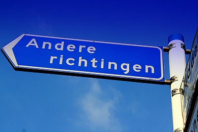andere richting